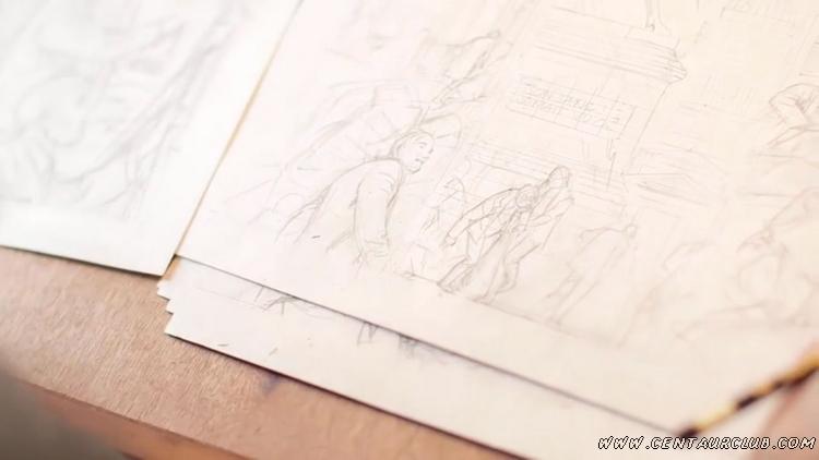 Blake mortimer par francois Schuiten arte metropolis extrait centaurclub