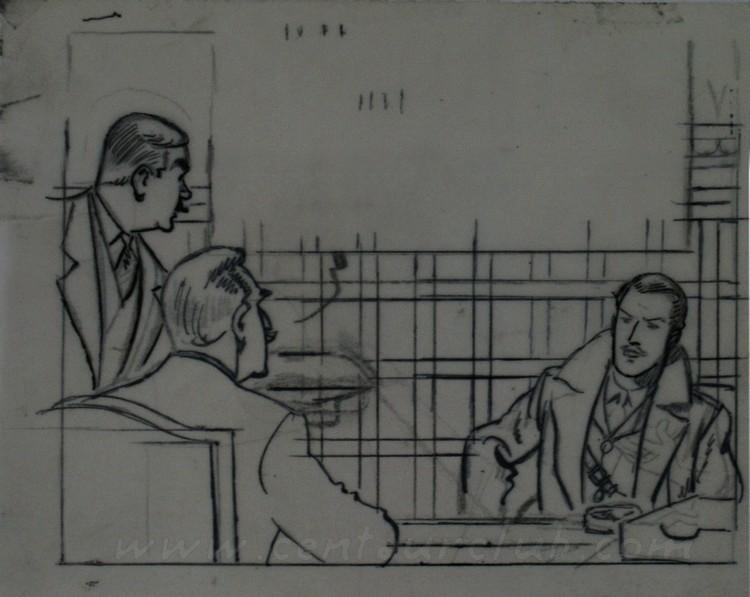Pleins feux sur Edgar Pierre JACOBS et Blake et Mortimer (2ème partie en cours) - Page 4 BM06-marque-jaune-pl53-a-c04-crayon
