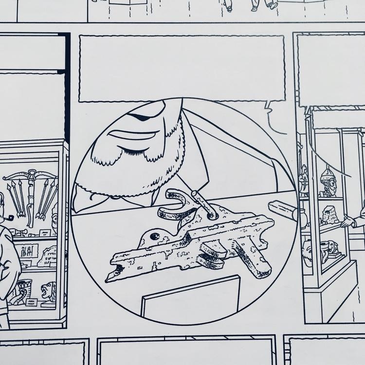 Menace hong-Kong case ou Mortimer observe une piece inconnue centaurclub