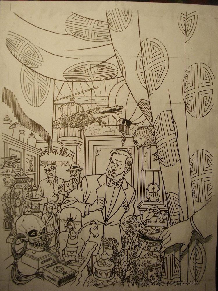couverture encrée du prochin Blake et Mortimer par Teun Berserik. centaurclub