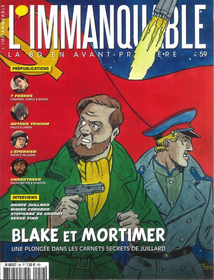Pleins feux sur Edgar Pierre JACOBS et Blake et Mortimer (2ème partie en cours) - Page 18 Blake-Mortimer-Immanquable-59-20151201_P00-couverture-f