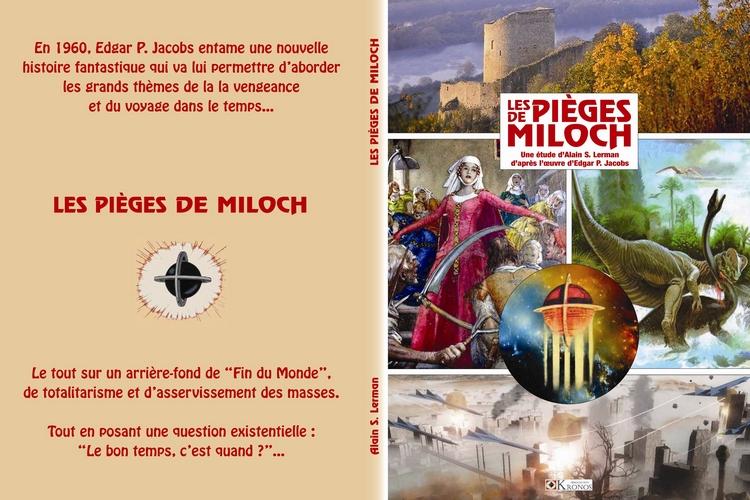les pieges de Miloch couverture de l'etude du piege diabolique blake mortimer centaurclub