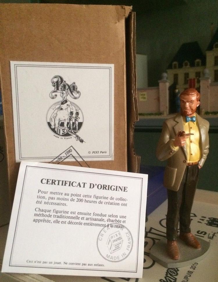 Certificat d/'origine pour figurine PIXI